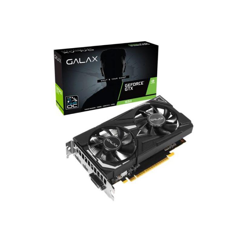 การ์ดจอ Galax Geforce GTX 1650 AMP 4GB GDDR6 128 Bit VGA