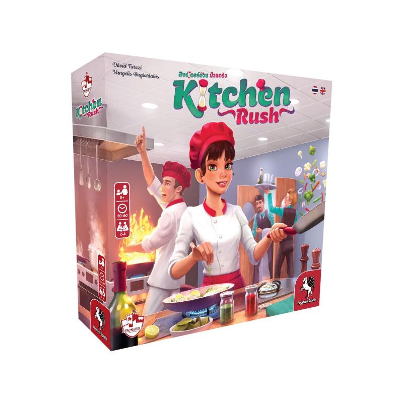 บอร์ดเกม Kitchen Rush ออร์เดอร์ด่วนป่วนครัว