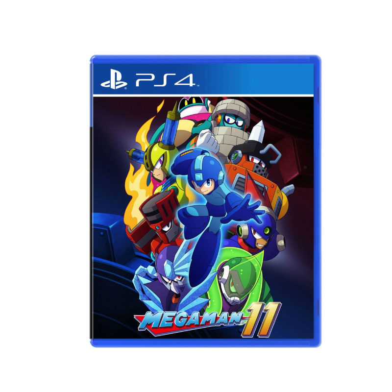 PS4 MEGA MAN 11 (MULTI-LANGUAGE) (ASIA) Game Console
