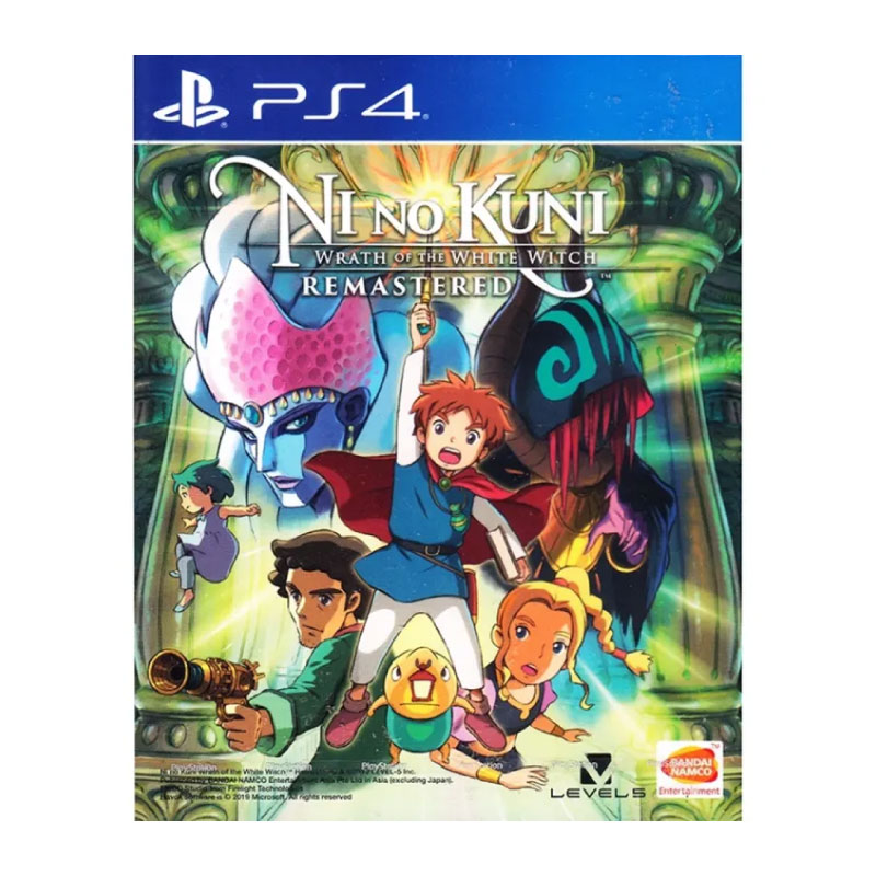 PS4 NI NO KUNI: WRATH OF THE WHITE WITCH REMASTERED (MULTI-LANGUAGE) (ASIA) Game Console