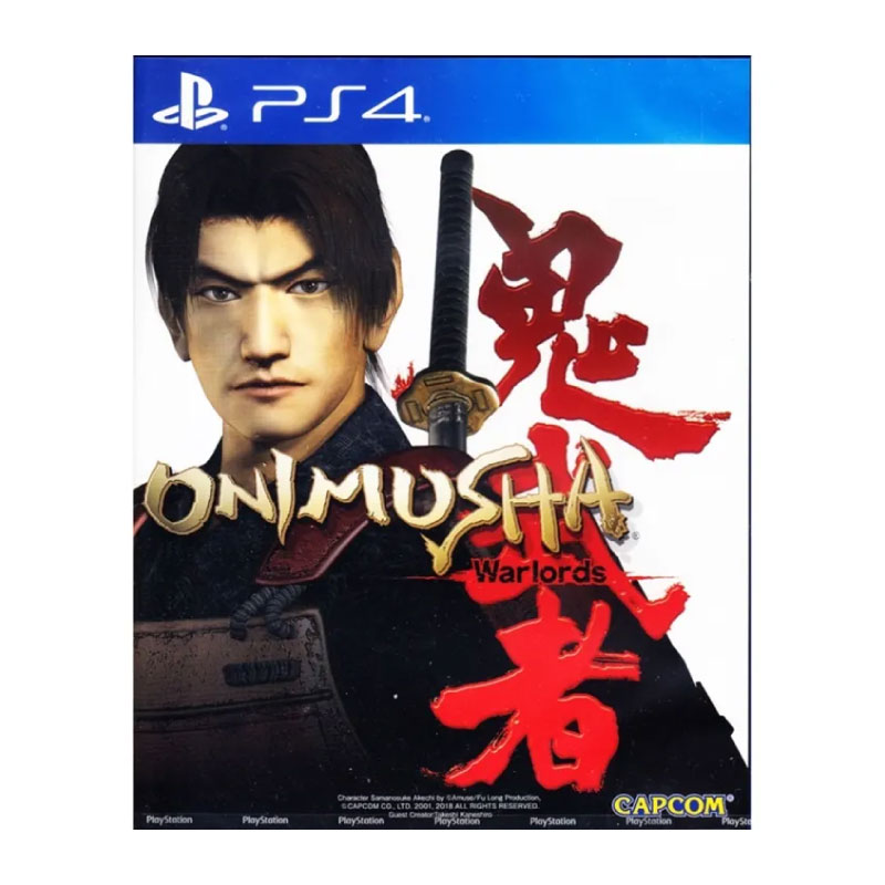 PS4 ONIMUSHA: WARLORDS (MULTI-LANGUAGE) (ASIA) Game Console