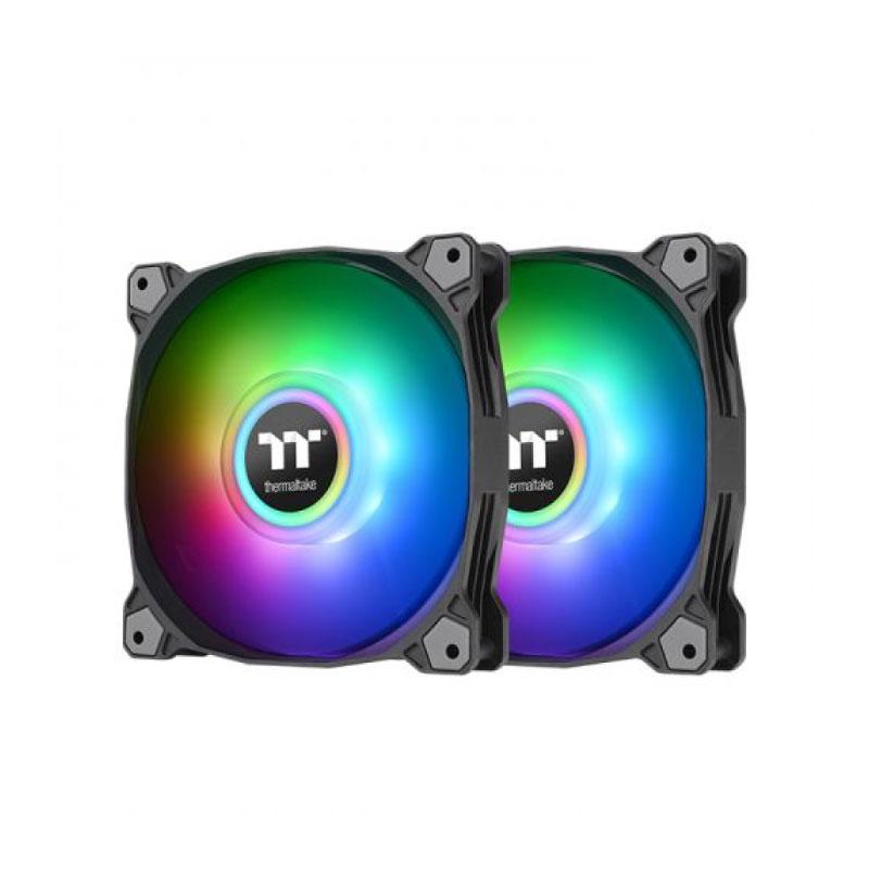 พัดลมระบายความร้อน Thermaltake Pure Duo 12 ARGB