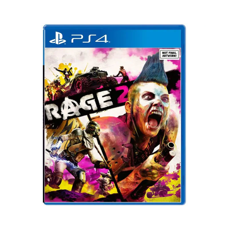 PS4 RAGE 2 (CHINESE & ENGLISH SUBS) (ASIA) Game Console