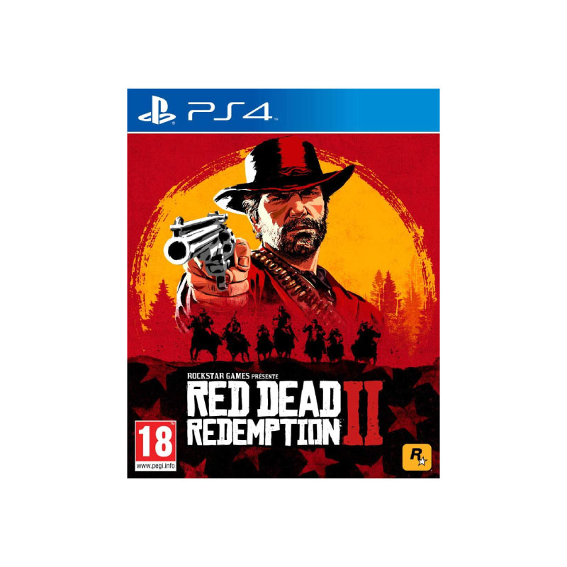 PS4 RED DEAD REDEMPTION 2 (MULTI-LANGUAGE) (ASIA) Game Console
