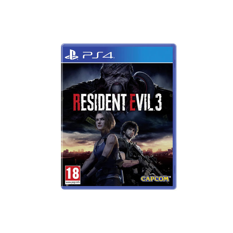 PS4 RESIDENT EVIL 3 (MULTI-LANGUAGE) (ASIA) Game Console