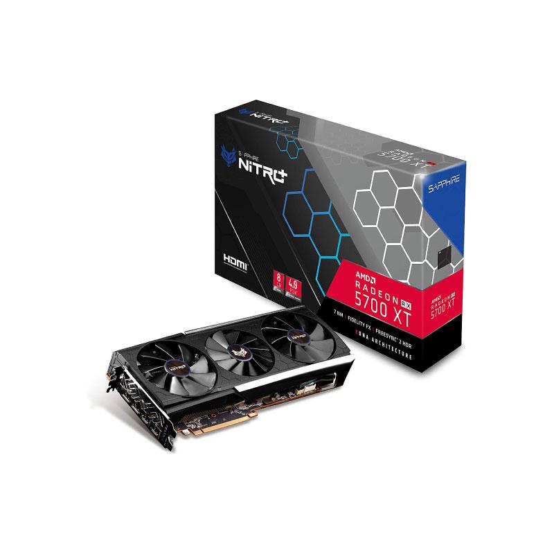 การ์ดจอ Sapphire Nitro+ Radeon RX 5700 XT 8GB GDDR6 VGA