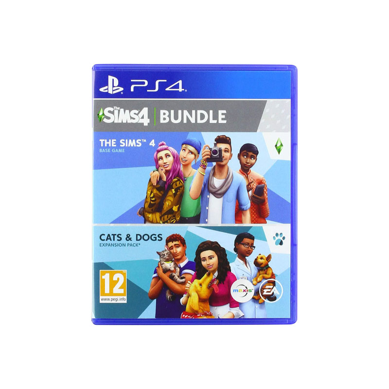 PS4 THE SIMS 4 + CATS & DOGS (US) Game Console