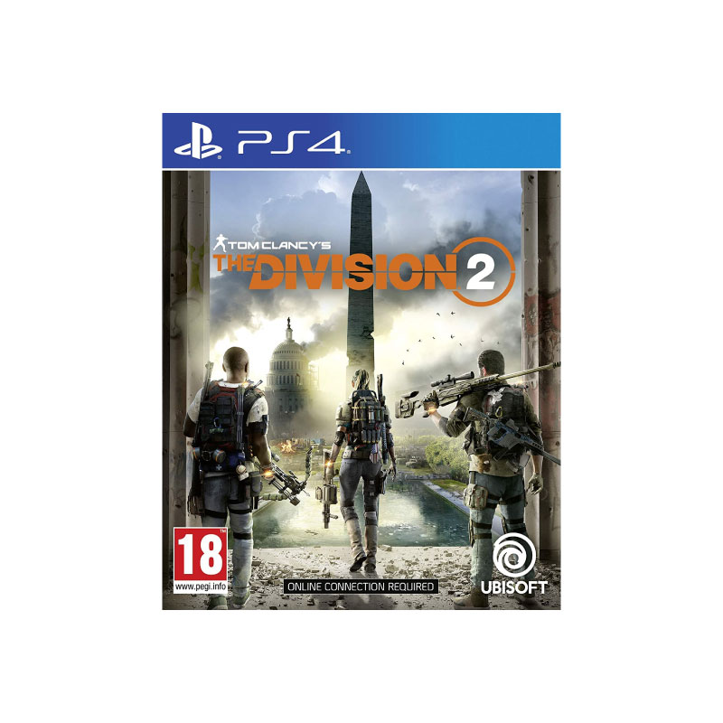 PS4 TOM CLANCY'S THE DIVISION 2 (ENGLISH SUBS) (ASIA) Game Console