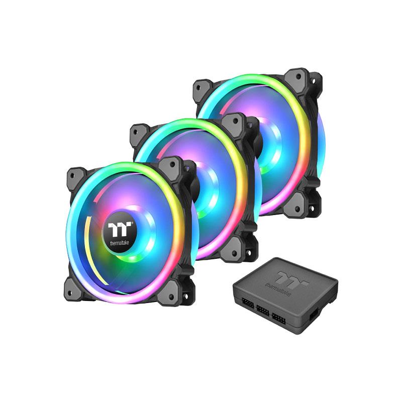 พัดลมระบายความร้อน Thermaltake Riing 14 RGB x3