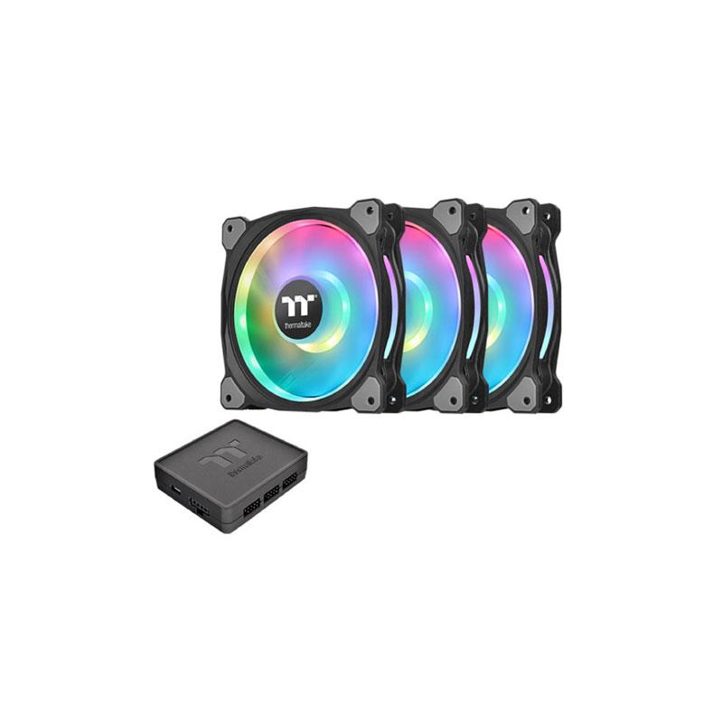 พัดลมระบายความร้อน Thermaltake Riing Duo 12 RGB x3