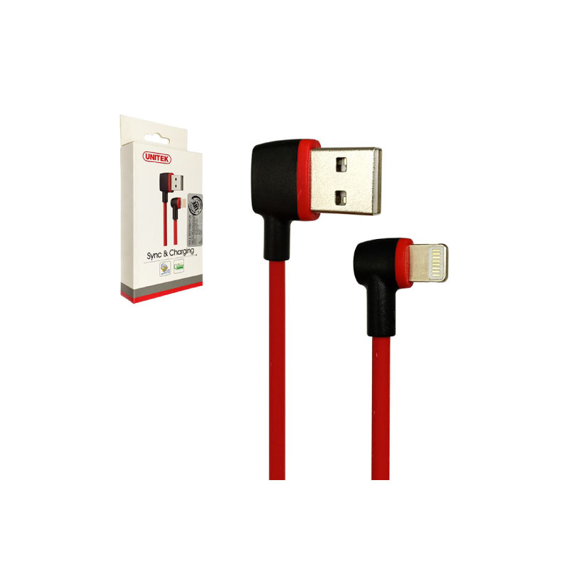 สายชาร์จ Unitek L-Shape Lightning Cable 1M [จำกัดออเดอร์ละ1ชิ้นเท่านั้น]