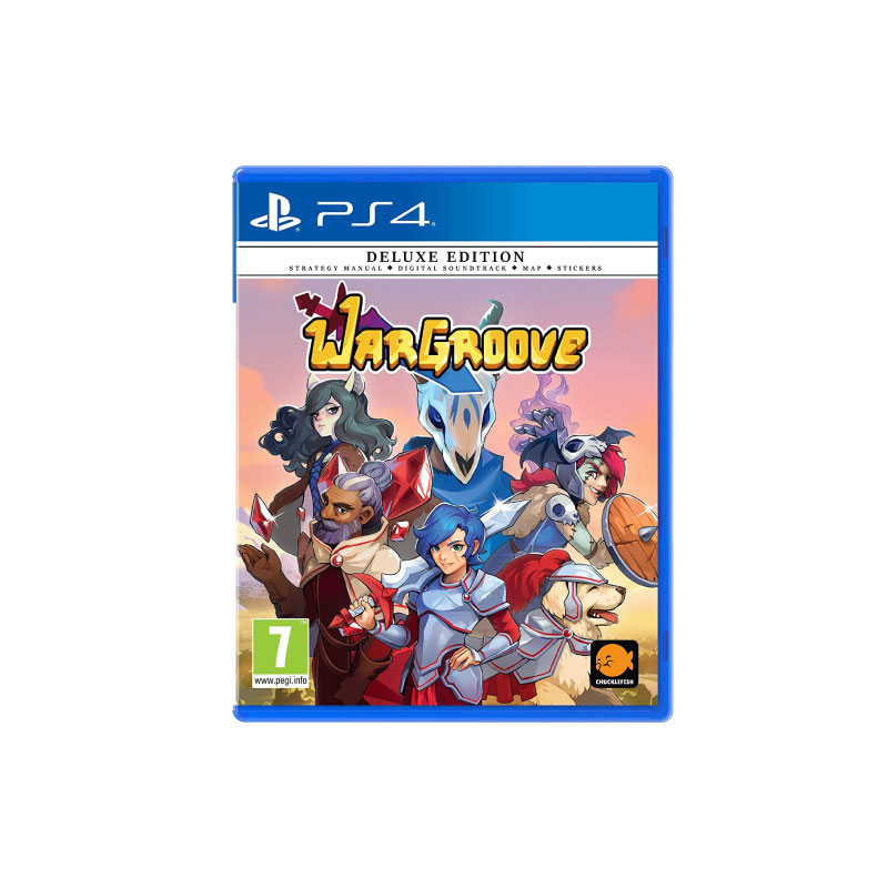 PS4 WARGROOVE [DELUXE EDITION] (EURO) Game Console