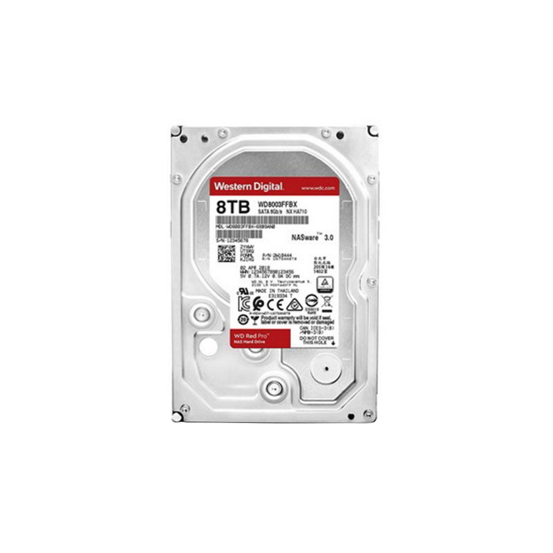 ฮาร์ดดิสก์ WD 8 TB NAS WD8003FFBX Red Harddisk
