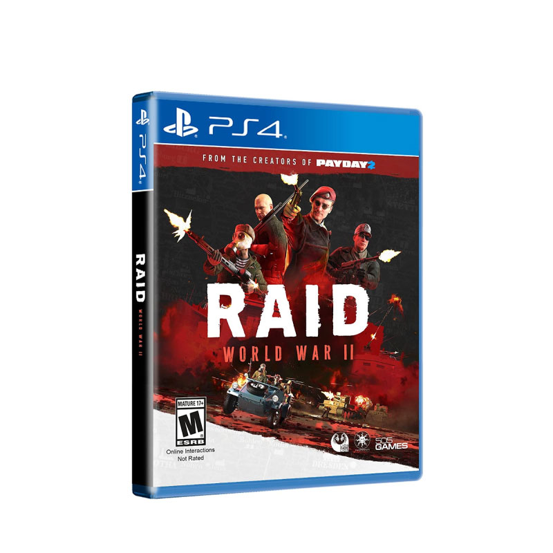 PS4 RAID: WORLD WAR II (EURO) Game Console