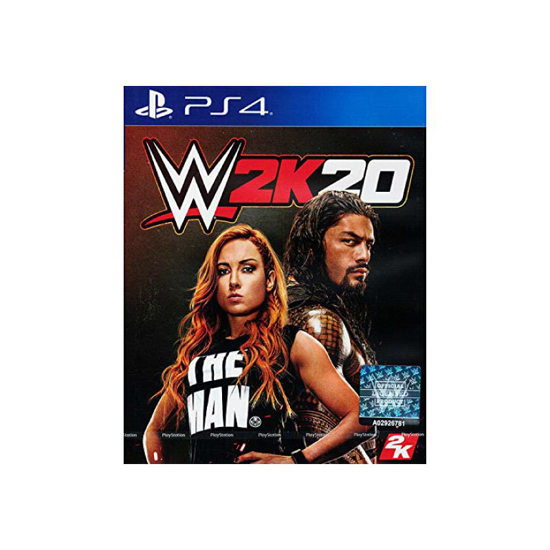 PS4 WWE 2K20 (ENGLISH) (ASIA) Game Console