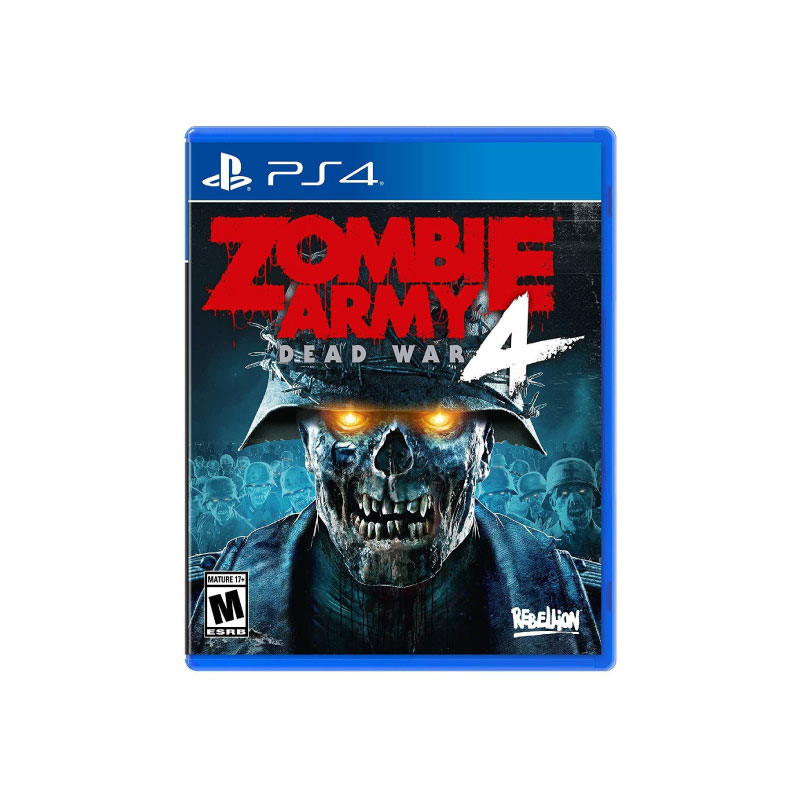PS4 ZOMBIE ARMY 4: DEAD WAR (EURO) Game Console