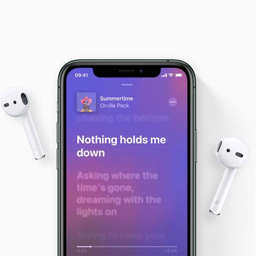 หูฟังไร้สาย Apple AirPods with Charging Case ใส่สบาย