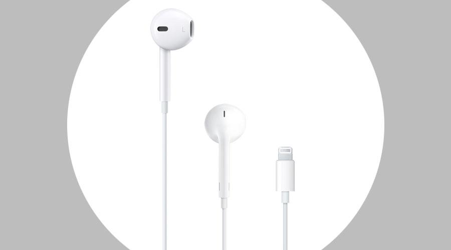 หูฟัง Apple Earpods With Lightning Connector Earbuds ราคา