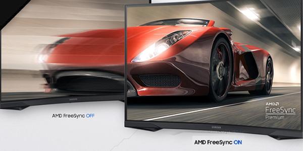 """จอคอม Samsung Odyssey G5 32"""" Curved @144Hz Monitor HDR"""