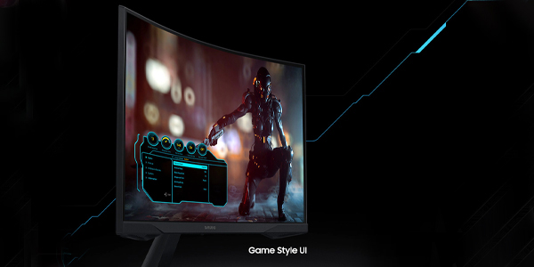 """จอคอม Samsung Odyssey G5 32"""" Curved @144Hz Monitor เมนู"""