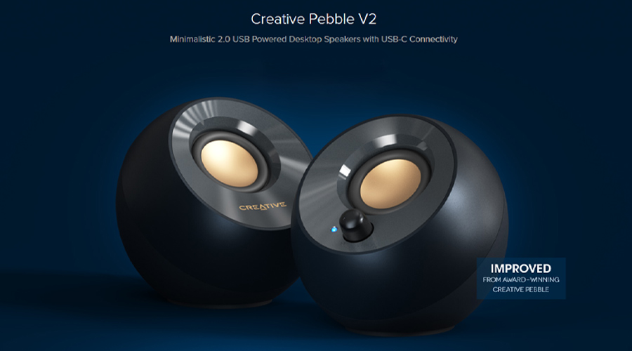 ลำโพง Creative Pebble V2 Speaker รีวิว