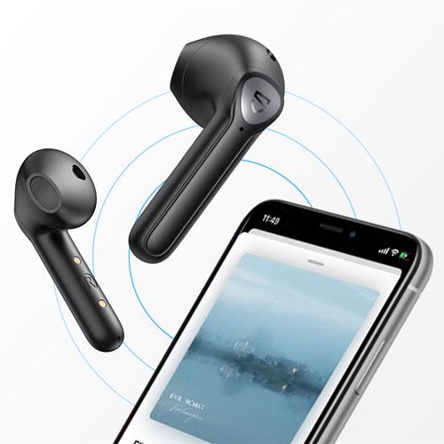หูฟังไร้สาย SoundPeats TrueAir 2 True Wireless สวมใส่สบายหู