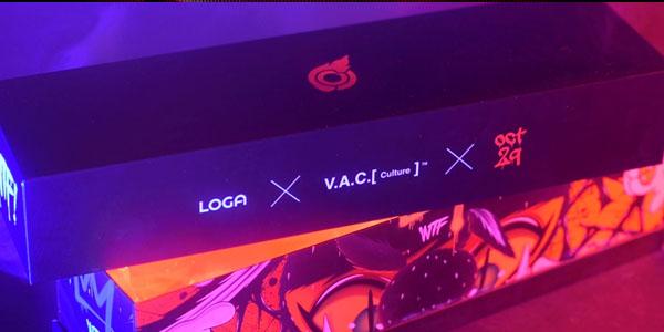 สรุป แผ่นรองเมาส์ Loga X V.A.C Bloodbath Mousepad ขนาด
