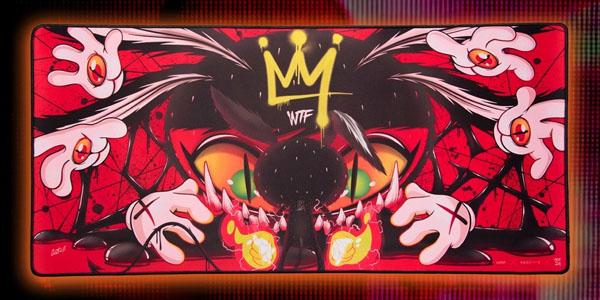 สรุป แผ่นรองเมาส์ Loga X V.A.C Bloodbath Mousepad ราคา