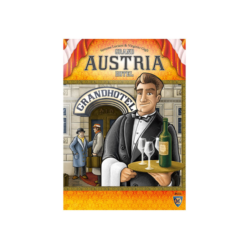 บอร์ดเกม Grand Austria Hotel Board Game