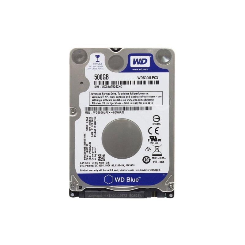 HDD NB WD 500GB SATA III 16MB 5400Rpm (WD5000LPCX)