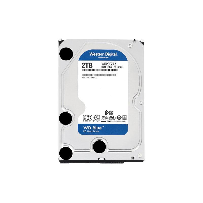 HDD WD 2TB SATA III 256MB 5400Rpm (WD20EZAZ)