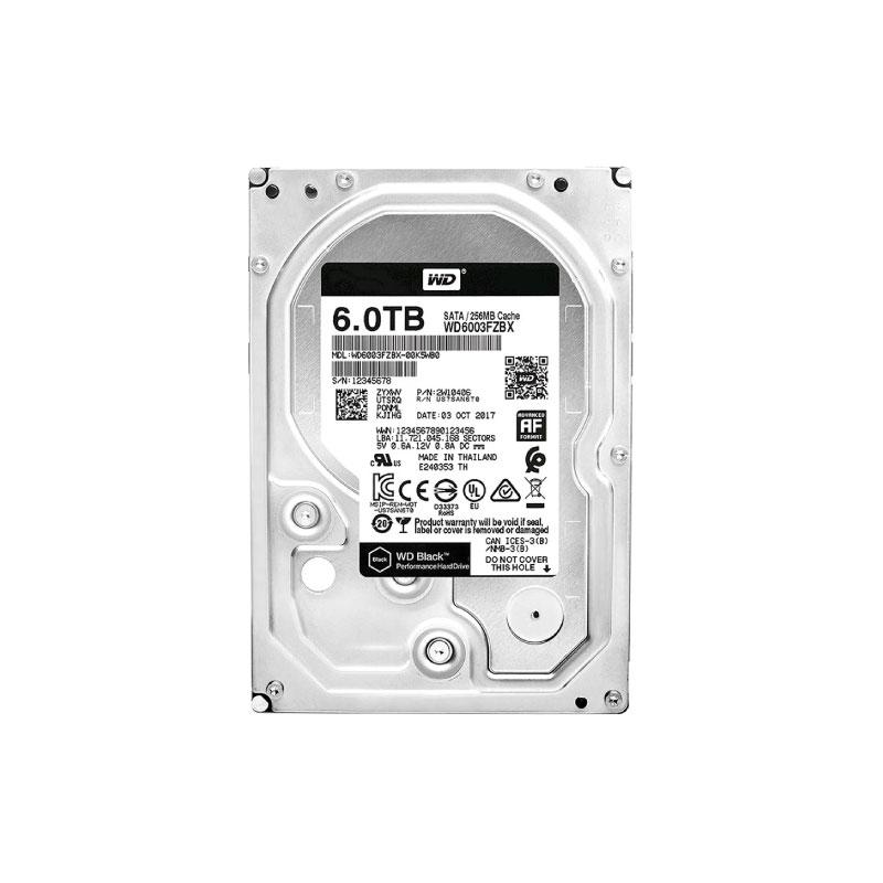 """HDD WD 6TB 3.5"""" SATA 7200Rpm (WD6003FZBX)"""