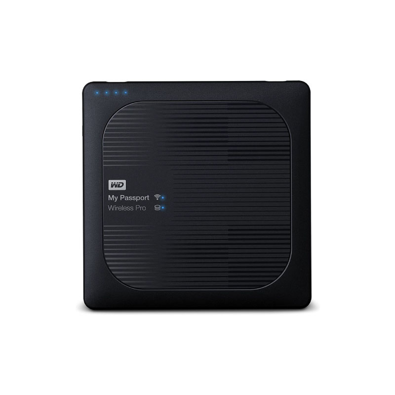 HDD WD My Passport Wireless Pro 2TB (WDBP2P0020BBK)