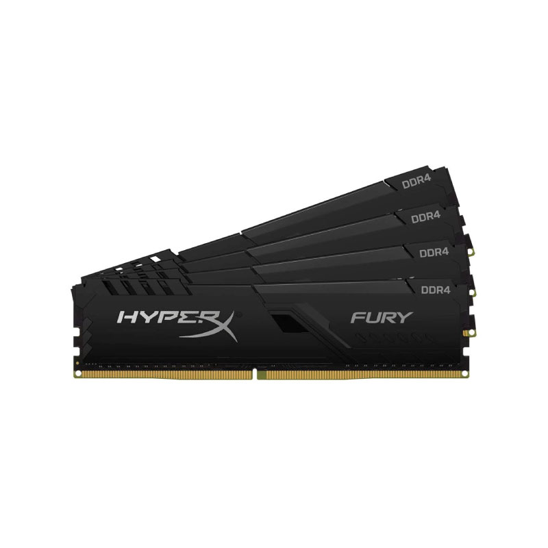 แรม Kingston 32GB (8GBx4) HyperX FURY 3466MHz