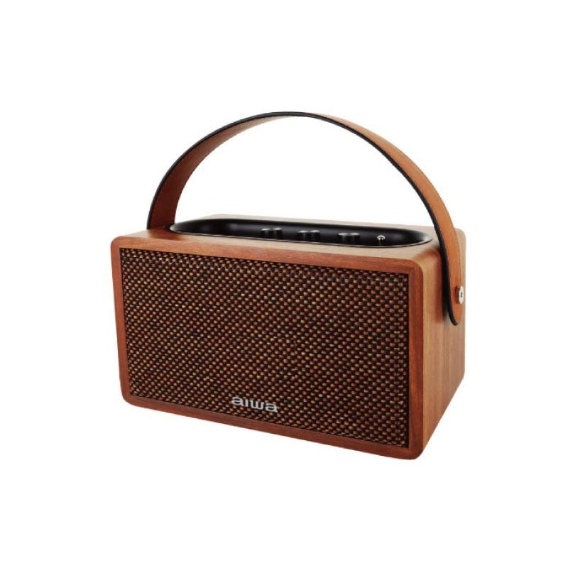 ลำโพงไร้สาย AIWA MI-X100 Retro Bluetooth Speaker