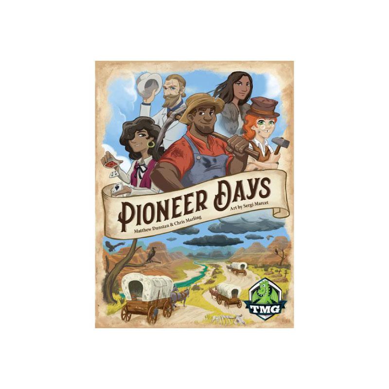 บอร์ดเกม Pioneer Days Board Game