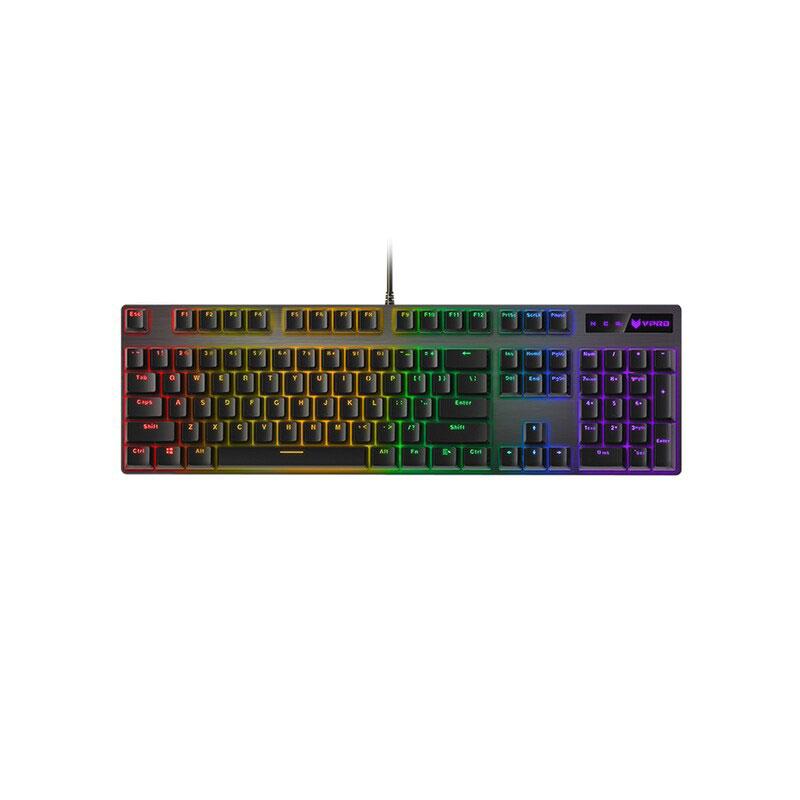 คีย์บอร์ด Rapoo V500 RGB Gaming Keyboard