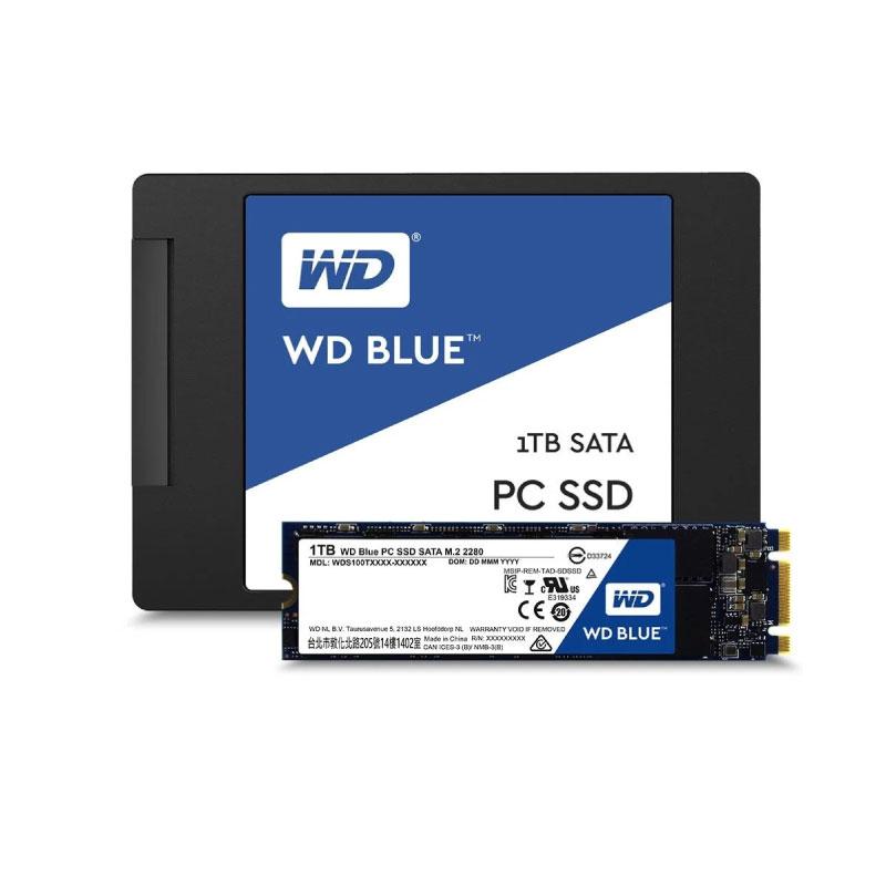 SSD WD 1TB M.2 READ 560MB WRITE 530MB (WDSSD1TB-M.2-3D)