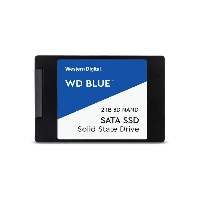 """SSD WD 2.5"""" 2TB SATA III READ 560MB (WDSSD2TB-SATA-3D)"""