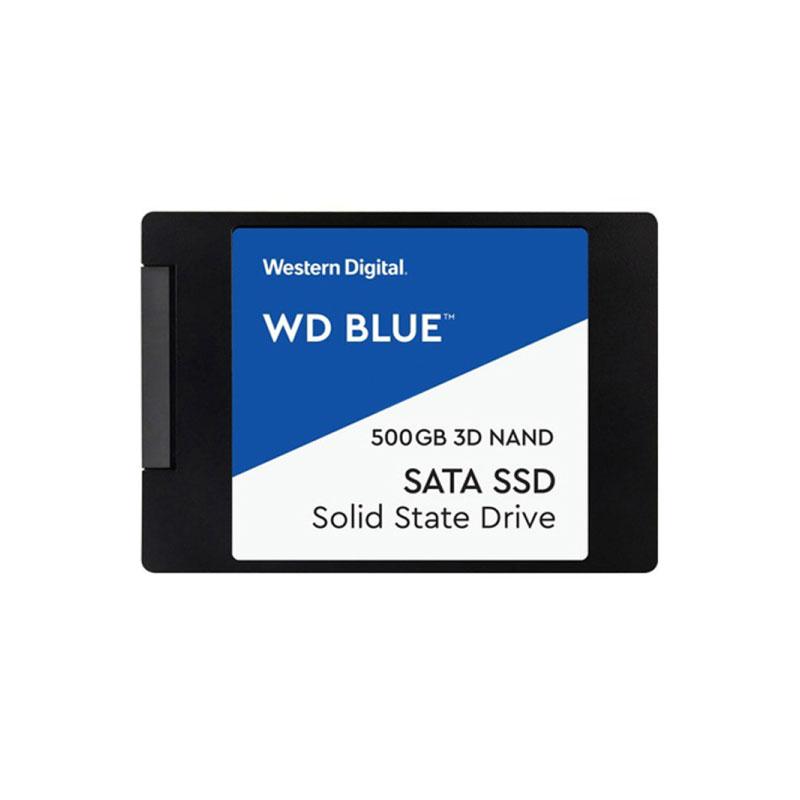SSD WD 2.5 500GB SATA III (WDSSD500GB-SATA-3D)