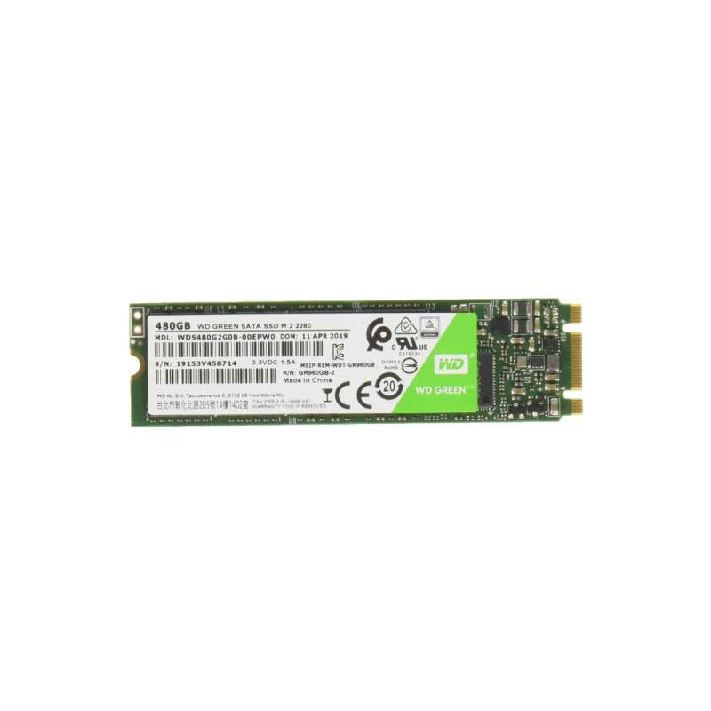 SSD WD 480GB M.2 (WDSSD480GB-M.2-GREEN-3D)