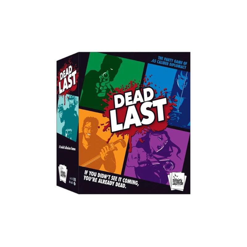 บอร์ดเกม Dead Last Board Game
