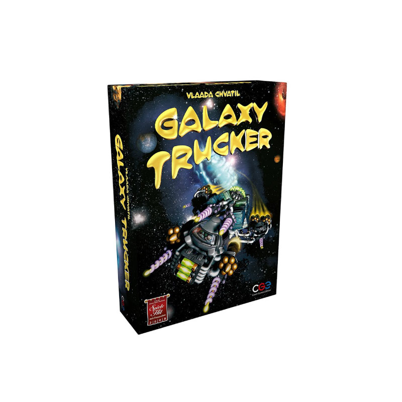 บอร์ดเกม Galexy Trucker Board Game