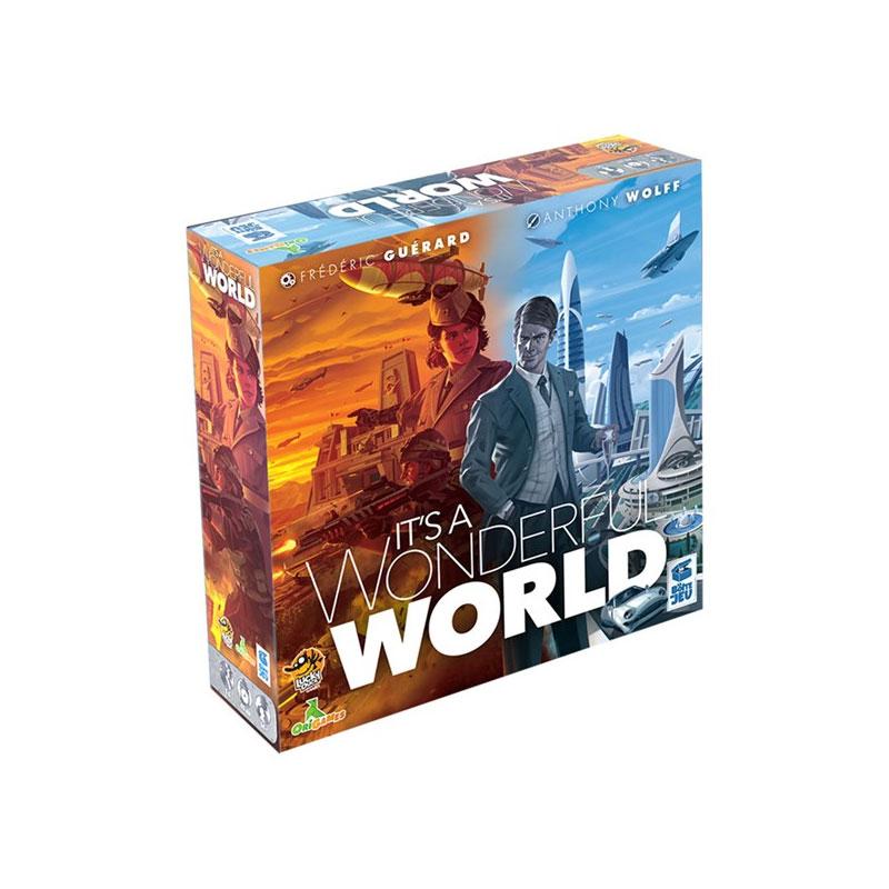 บอร์ดเกม It's a Wonderful World สร้างโลกมหัศจรรย์ Board Game