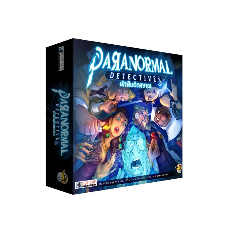 บอร์ดเกม นักสืบวิญญาณ Paranormal Detective Board Game
