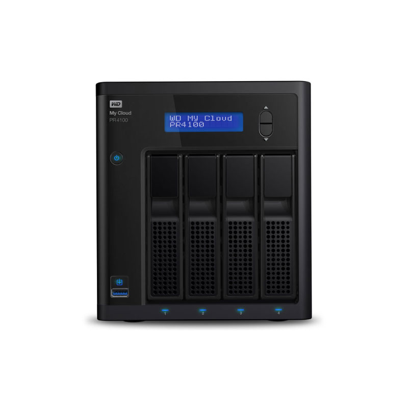WD My Cloud PR4100 Ultra Nas Storage 4Bay