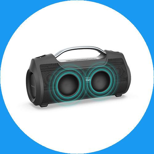 ลำโพงไร้สาย Dope Boom X Bluetooth Speaker คุ้มค่า