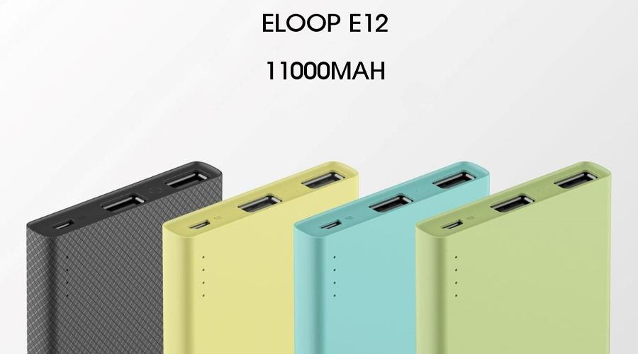 แบตสำรอง Eloop E12 11000mAh Power Bank ซื้อ-ขาย