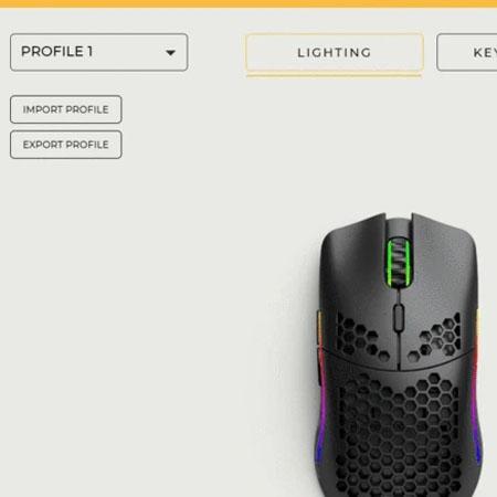เมาส์ไร้สาย Glorious Model O Wireless Gaming Mouse โปรแกรม