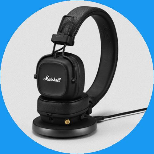 หูฟังไร้สาย Marshall Major IV Wireless Headphone เสียงดี